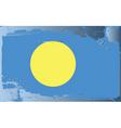 Palau national flag vector image vector image