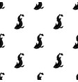 catshark icon in black style isolated on white vector image