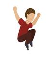 jump man sport vector image