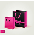 Shopping bags isolated vector image