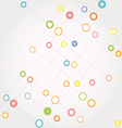 Network color technology communication background vector image vector image