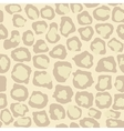 Leopard Seamless Spotted Background Leopard vector image