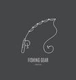 Fishing Gear vector image