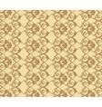 Classic vintage acanthus floral ornament pattern vector image