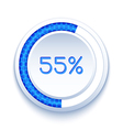 Round Progress Bar vector image