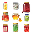 preserves vector image vector image