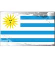 uruguay national flag vector image
