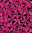 abstract pink flowers seamless vector image