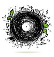 music sketch concept vector image