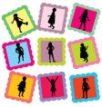 family stamps vector image