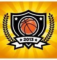Basketball Logo Emblem vector image