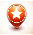 Favorite red icon vector image