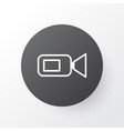 video camera icon symbol premium quality isolated vector image