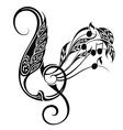 Music decorative vector image