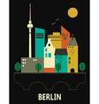 Berlin Germany vector image