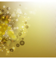 Gold Blurred Background vector image