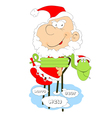 Christmas new year vector image vector image