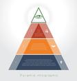 piramid 3 vector image