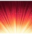 Stars descending on red light EPS 8 vector image vector image