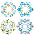 blue design element vector image