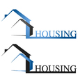 housing design vector image vector image