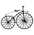 Boneshaker bicycle vector image