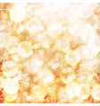 Happy Thanksgiving background Autumn blur vector image