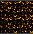 halloween holiday seamless background vector image