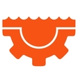 Water Service Icon vector image