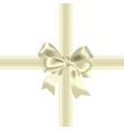 celebratory bow vector image