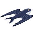 swallowbird vector image vector image
