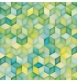 Seamless Multicolor Gradient Cube Shape vector image