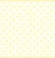 yellow diamond pattern seamless vector image