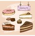 Sweets Dessert vector image