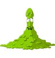 toxic vector image