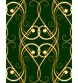 seamless swirles pattern vector image
