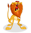 roaring lion vector image vector image