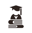 University avatar Education icon vector image