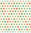 Random pattern of big and small colorful vector image