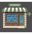 pharmacy drugstore icon vector image