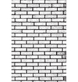Distress Brickwall Texture vector image