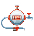 Save Energy Resources vector image