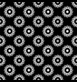 polka dot flower chaotic seamless pattern 111 vector image