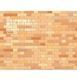 Red brown brick wall vector image