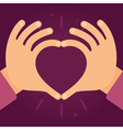 love and charity concept vector image