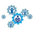 successful business creative logo conceptual vector image