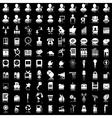 Icon set 100 vector