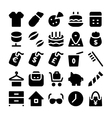 Shopping Icons 11 vector image