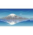 Snow Mountain vector image