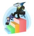 monopoly shark vector image